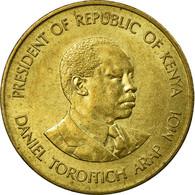 Monnaie, Kenya, 5 Cents, 1989, British Royal Mint, TTB, Nickel-brass, KM:17 - Kenia