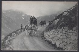 CPA  Suisse, BERG Post, La Poste, Diligence Attelage, Bergenstock, 1908 - Switzerland