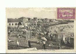 La Madrague La Plage Et Les Villas  Avec Timbre Alger Des 2 Cotes - France