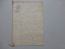 86 Vouneuil-sur-Vienne 1846, Procès Guinet, Prison Châtellerault ,  Ref 663 ; PAP07 - Documents Historiques