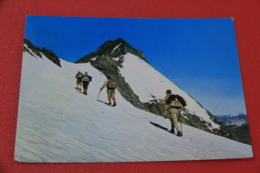Torino Albaron Di Savoia Una Cordata Di Alpini 1972 + Timbro CAI Rifugio Gastaldi - Italy
