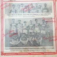 1913 CROSS COUNTRY - CHAMPIONNAT DE FRANCE À LANGON - MÉTROPOLITAIN CLUB - MASSILIA CLUB MARSEILLE - Livres, BD, Revues