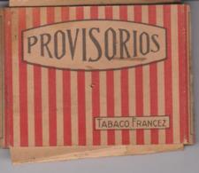 PAQUET CIGARETTES VIDE  PROVISORIOS . PORTUGAL - Empty Cigarettes Boxes