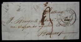 Sainte Foy 1840, Lettre Pour Bordeaux - Storia Postale
