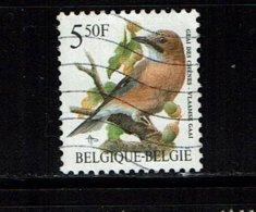 BELGIE GESTEMPELD NR° OPB    2526 - 1985-.. Oiseaux (Buzin)
