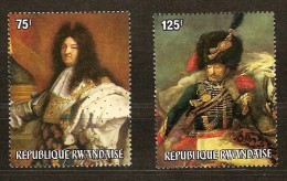 Rwanda Ruanda 1975 OCBn°  639-40 *** MNH Cote 14,00 Euro Arphila Paris - Rwanda