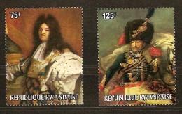 Rwanda Ruanda 1975 OCBn°  639-40 *** MNH Cote 14,00 Euro Arphila Paris - 1970-79: Neufs
