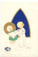 Devotie - Devotion - Communie Communion - Jacques Duby - Sart Les Moines - 1945 - Illustr Josette Boland - Kommunion Und Konfirmazion