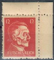 Propaganda-Fälschung Der USA Für Das III.Reich/Deutschland, 12 Pfg. Adolf Hitler, 1944, RARITÄT (Mi.-Nr.17**) - Duitsland