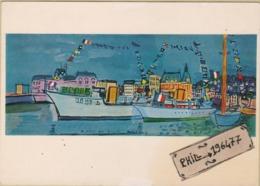 Raoul Dufy - Cpm / Fête Nationale à Deauville. - Paintings