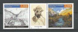 ANDORRE ANDORRA 2004 N° 599 600 NEUFS** NMH - Unused Stamps