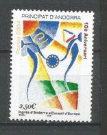 ANDORRE ANDORRA 2004 N° 602 NEUF** NMH - Unused Stamps