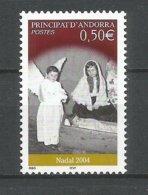 ANDORRE ANDORRA 2004 N° 603 NEUF** NMH - Unused Stamps