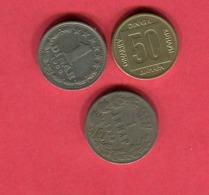 LOT 3 MONNAIES DIFFERENTES TB+ 2,5 - Joegoslavië