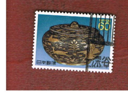 GIAPPONE  (JAPAN) - SG 1980  -   1989  NATIONAL TREASURES  - USED° - 1926-89 Imperatore Hirohito (Periodo Showa)