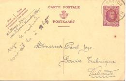 Briefkaart - Carte Postale - Warneton à Vilvorde - 1925 - Entiers Postaux