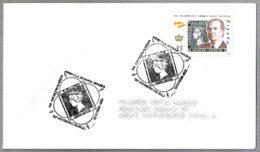 150 Años PRIMER SELLO ESPAÑOL - 150 Years First Spanish Stamp. Mahon, Baleares, 2000 - Sellos Sobre Sellos