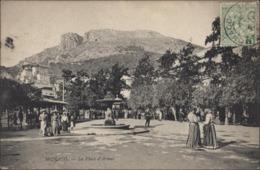 CPA Monaco La Place D'armes ND Phot 633 Voyagée 1908 - Autres