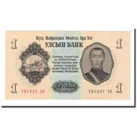 Billet, Mongolie, 1 Tugrik, 1955, KM:28, NEUF - Mongolia