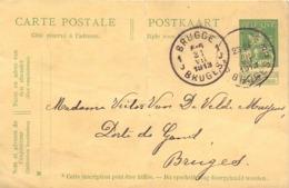 Briefkaart - Carte Postale - Brugge - Stempel Cachet Bruges 1913 - Entiers Postaux