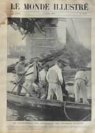 La Catastrophe De Ponts-de-Ce Aux Environs D'Angers - Page Original - 1907 - Documents Historiques
