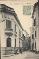 CPA Monaco Rue Du Milieu 829 Edition Giletta Phot Nice Voyagée - Autres