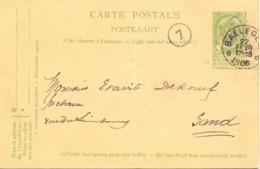 Briefkaart - Carte Postale - Stempel Cachet Balegem 1906 - Entiers Postaux
