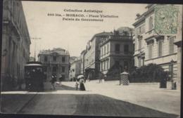 CPA Collection Artistique 800 B Monaco Place Visitation Palais Du Gouverneur Tramway Ets Giletta Frères Nice CAD 1909 - Autres