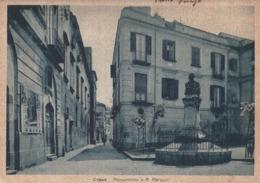 Cartolina- Postcard /   Viaggiata  - Sent /  Capua, Monumento A G. Martucci.( Gran Formato ) Anni 40° - Altre Città