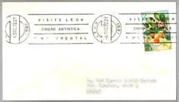 VISITE LEON - CIUDAD ARTISTICA Y MONUMENTAL. Leon 1972 - Vacaciones & Turismo