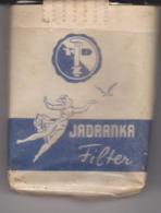 PAQUET CIGARETTES   VIDE  . JADRANKA . ZAGREB - Empty Cigarettes Boxes