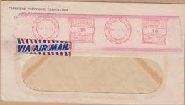 ENVELOPPE PAR AVION 1951 CAMBRIDGE VOIR CACHET - Storia Postale