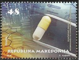 MK 2018-830 PHARMACY - STREPTOMICIN, NORD MACEDONIA, 1 X 1v, MNH - Pharmacy