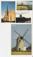 BOUIN. 2 CP Multivues - Le Moulin - Autres Communes