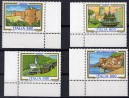 1998 ITALIE  N** 2293 A 2296  MNH - 6. 1946-.. República