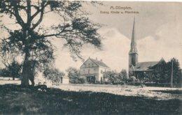 Mulheim Dümpten (Allemagne) Evang. Kirche U. Pfarrhaus - Muelheim A. D. Ruhr