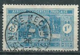 Timbre Senegal Obliteration N'gaye Meckhe - Senegal (1887-1944)