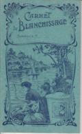 """Carnet De Blanchissage / Lavandière - Pub """" La Rapide """" Lessiveuse - Publicités"""