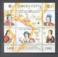 Turkisch Cyprus 1992; Europa Cept - MB 10.** (MNH) - Europa-CEPT
