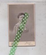 Card De Visite, Visitekaart Fotograaf Th. Jensen, Ronse, Renaix, Grootte 6cm Op 10cm - Photos