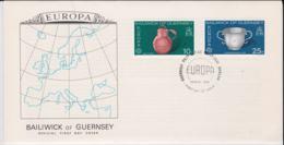 Guernsey 1976 FDC Europa CEPT    (NB**L75-5) - Europa-CEPT
