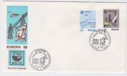 Malta 1988 FDC Europa CEPT    (NB**L75-5) - Europa-CEPT