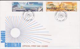 Gibraltar 1988 FDC Europa CEPT    (NB**L75-5) - Europa-CEPT