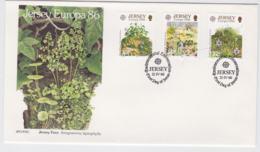 Jersey 1986 FDC Europa CEPT    (NB**L75-5) - 1986