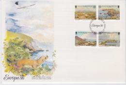 Isle Of Man 1986 FDC Europa CEPT    (NB**L75-5) - 1986