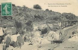 SAULX LES CHARTREUX - Les Carrières Et La Passerelle. - France