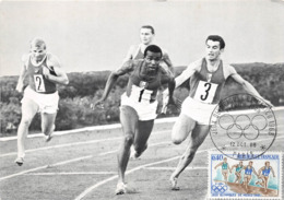 ¤¤ -   ATHLETISME   -  Relais 4 X 100 M - France - U.R.S.S. En 1966 - Piquemal - Bambuck    - ¤¤ - Athletics