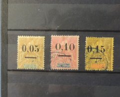 Madagascar -  N° 52 - 53II - 54  //   Cote : 32 Euros - Used Stamps