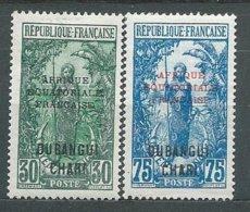 OUBANGUI N° 75+66 * TB  2 - Unused Stamps