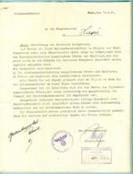 Ordre De Réquisition Des Chevaux Et Autres Par L'Ortskommandantur 1941 - 1939-45